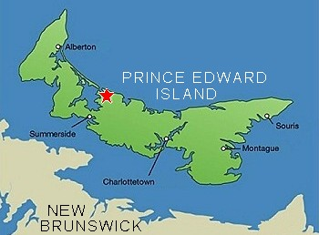 Welcome To Prince Edward Island Sign